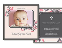Baptism / Birthday Cards Baby & Kids