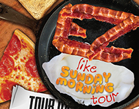 Boulders Tour Poster: EZ Like Sunday Morning Tour