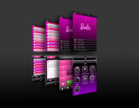 Barbie Mobile | Mobile interface design