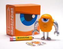 Sketchbot Designer Vinyl Toy