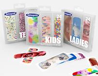 Rediseño Packaging de bandaids. Gráfico e Industrial