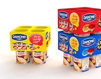 Danone Creamy Multi packaging ( Lego )