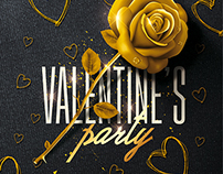 Classy Valentine's Party - Psd