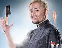 Sushi Chef - Fine Art Series