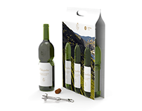 Wine Bottle / Package design