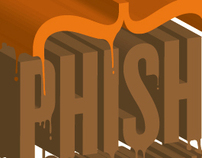 Phish Merchandise and event Design