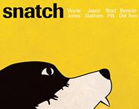 Snatch - Affiche minimaliste