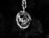 NUT SKULL Pendant - Nouveau Ame Collection