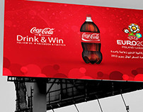 Cocacola outdoor banner