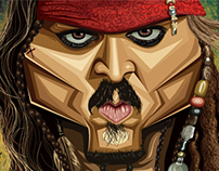 Jack Sparrow - Vector Art