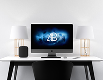 Modern iMac Pro Mockup Vol.2