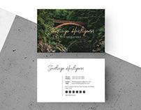 Free Modern Photographer Business Card Template