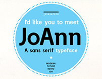 JoAnn the typeface