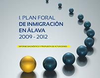 Diseño y maquetación para el I.Plan Foral en Álava