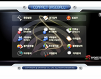 Compact Baseball UI.