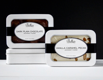 BELLA'S CONFECTIONS PACKAGING & BROCHURE