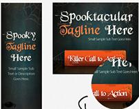Spooky Fun Halloween Banner Set