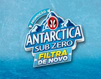 Promo Filtra de Novo Antarctica Sub Zero