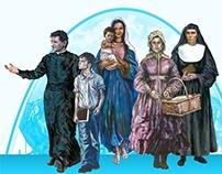 Figuras Carismáticas - Salesianos