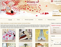 "Online store of bed linen ""Dreamy.su""."