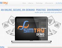 SimTry | Website