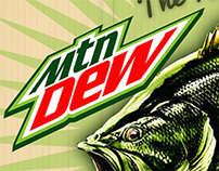 Mountain Dew Social Media Fishing Promotion