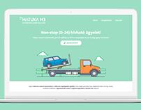 Matuka M3 webdesign