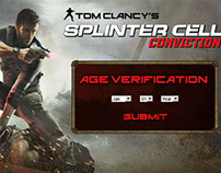 Splinter Cell digital campaign