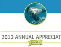 2012 Annual Appreciation Dinner invite