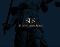Studio Legale Saina / Brand Identity