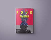 Magazine design | FOOD PLAYERS