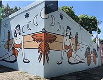 Selina Jacó Mural