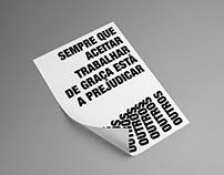 TRABALHAR DE GRAÇA