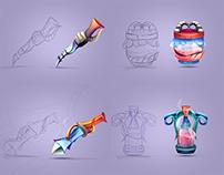 Game Icons Set