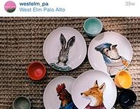 Instagram Content for West Elm-Palo Alto