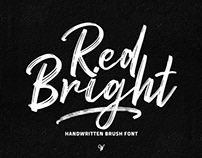 FREE FONT // Red Bright - Brush Font