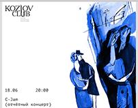 KOZLOV CLUB posters/JUNE