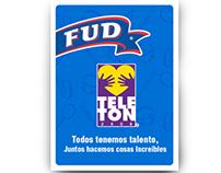 Producto promocional FUD para Teletón 2008