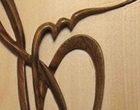 Woodden Monogram