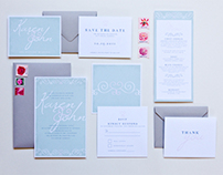 Custom Wedding Stationery Design