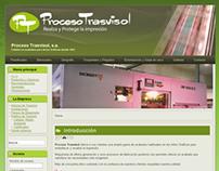 Rediseño logo y web para Trasvisol