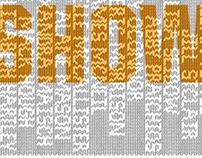 SweaterVest Typeface & Portfolio Show Poster