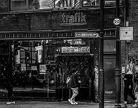 London Streets a Night Journey