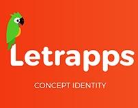 Letrapps - Identity Logo