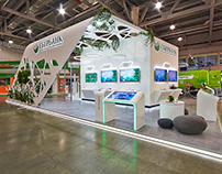 Exhibition stand for SBERBANK