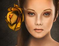 Landis Salon III - Digital Painting
