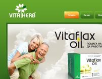 VitaHerb website design