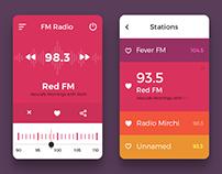 Mobile UI Concept I
