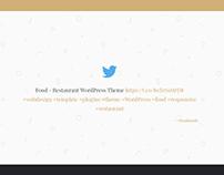 Twitter Slider Element - Ink Blog WordPress Theme