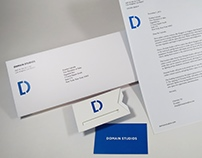 Domain Studios Branding & Stationery